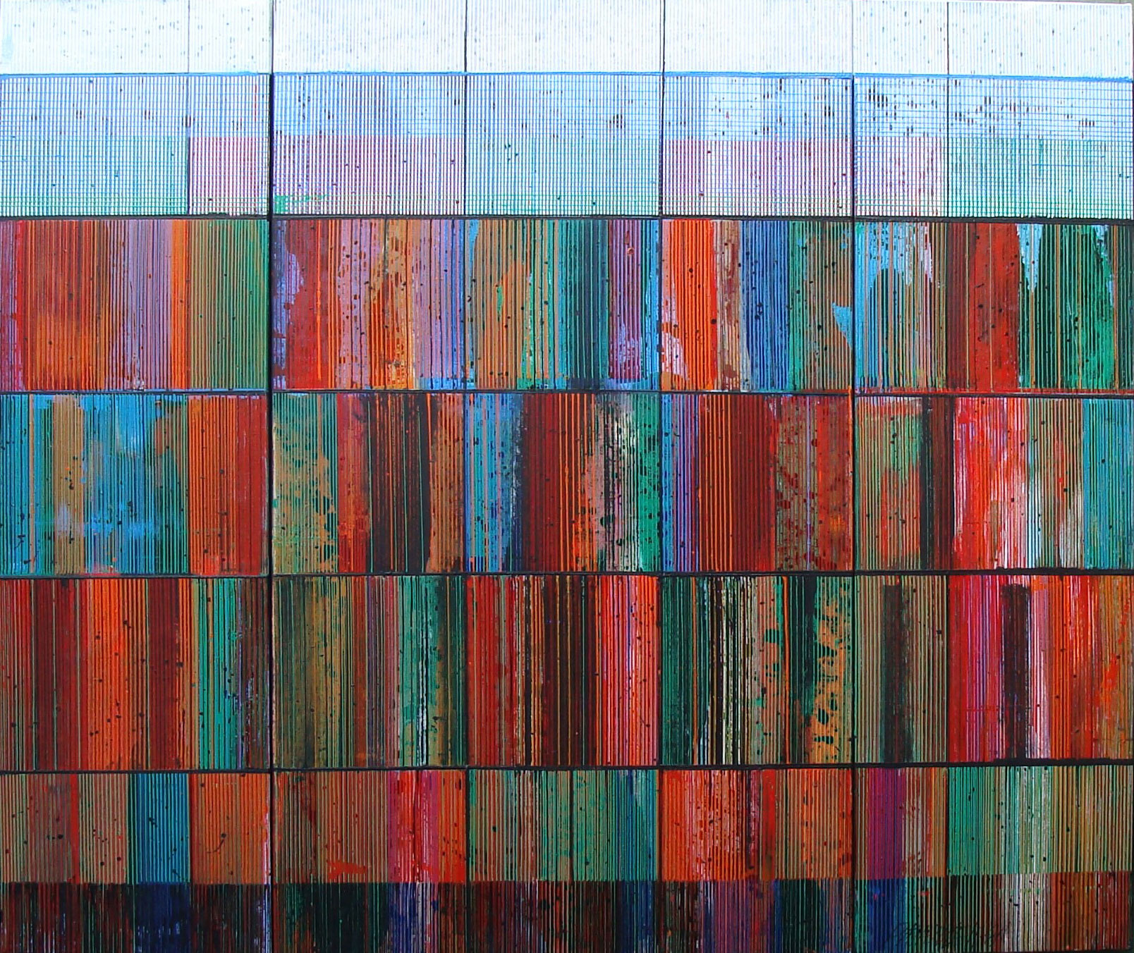 Bands Grids Striations Pixels Other Markings 1984 5x6