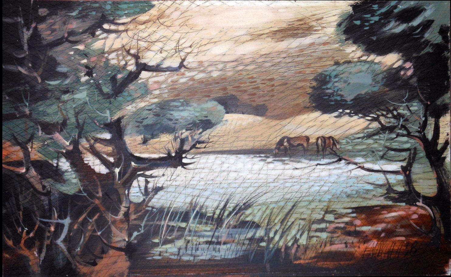 Untitled 1958 29x47