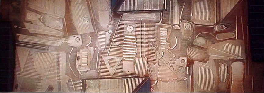 Aerial View I 2002 36x100