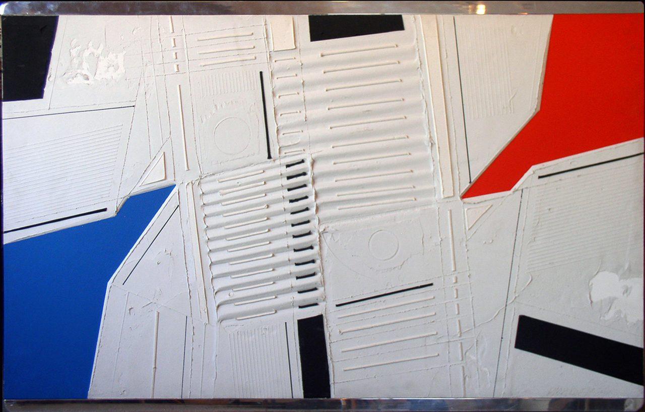 Black Intrusion 1984 39x60